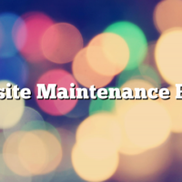 Website Maintenance Plans