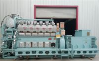 STX MAN HFO/Diesel gensets for sale (22 units) unused 9000KW (60HZ)