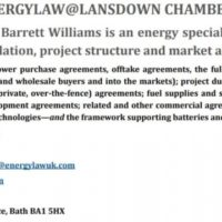Expert in Energy Law