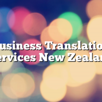 Business Translation Services New Zealand